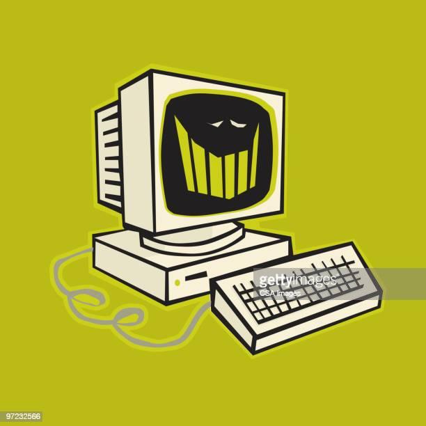 computer - computer stock illustrations