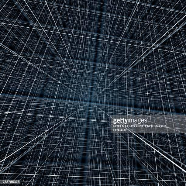 illustrazioni stock, clip art, cartoni animati e icone di tendenza di concept of space - punto di fuga