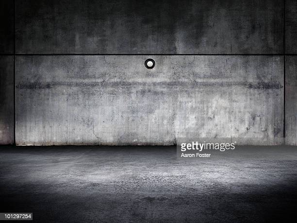 Concrete Warehouse Room