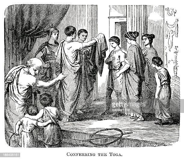 Conferring The Toga
