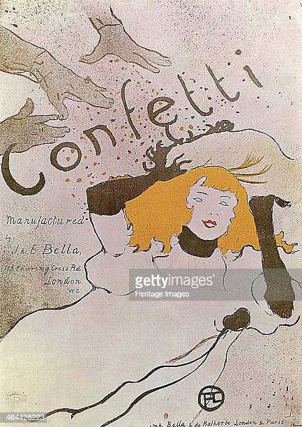 'Confetti' 1893 Poster ToulouseLautrec Henri de Found in the collection of the State A Pushkin Museum of Fine Arts Moscow