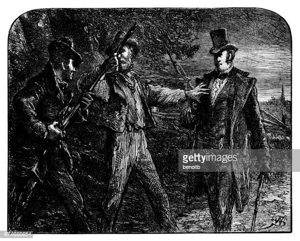 confrontation - dueling stock illustrations, clip art, cartoons, & icons