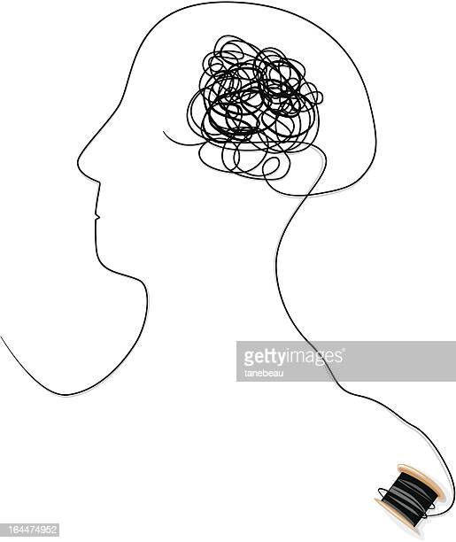 Confused or brain tangle