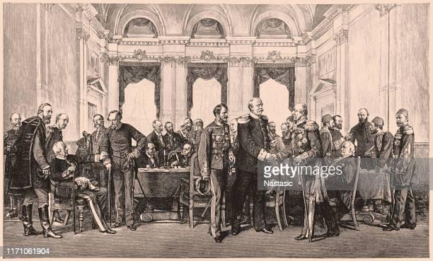 congress of berlin, 1878 - 1900 stock illustrations