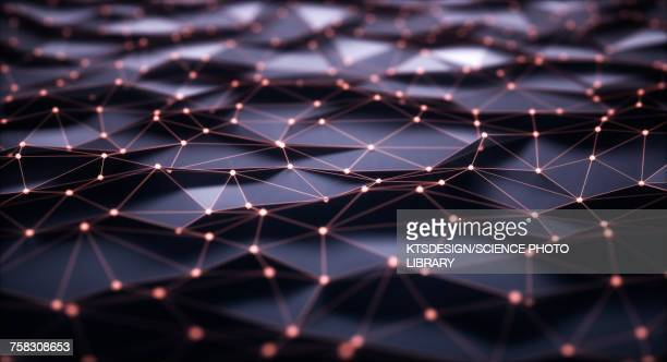 connecting lines, illustration - digitally generated image stock illustrations
