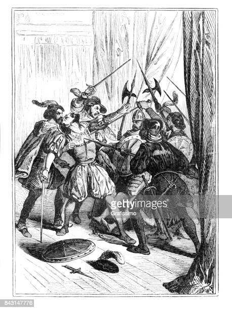 Conquistador Francisco Pizarro gedood in Lima Peru 1541