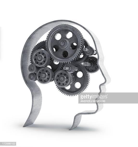 consciousness, conceptual image - alertness stock illustrations