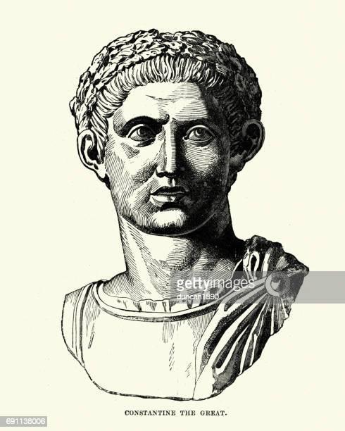 Kejsare Konstantin Den Store bildbanker med illustrationer och tecknat | Getty Images
