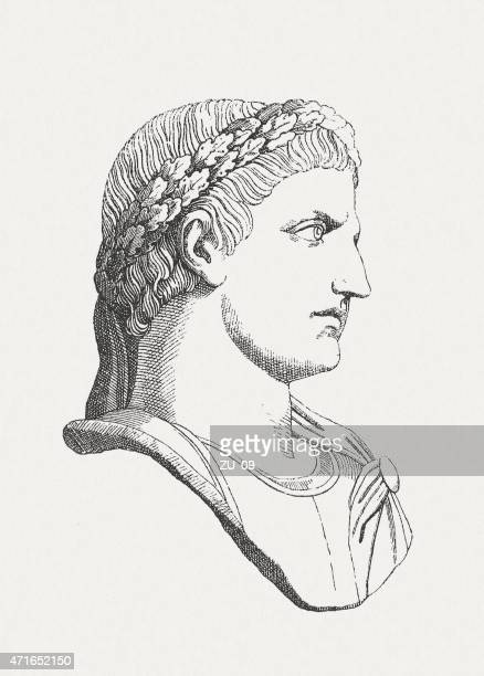 illustrazioni stock, clip art, cartoni animati e icone di tendenza di constantine (c.   272 ad - 337 ad), imperatore romano, publ.   1881 - penitente people