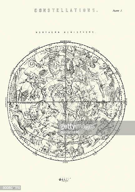 Constellations of the Northern Hemisphere