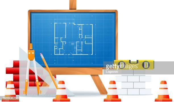 konstruktion konzept - stockwerk stock-grafiken, -clipart, -cartoons und -symbole
