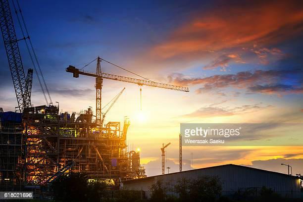 construction - tall high stock illustrations