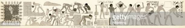 construction of the Amun temple, Egypt