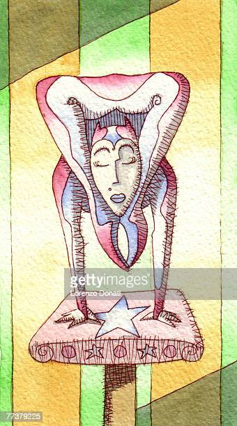 contortionist - contortionist stock illustrations