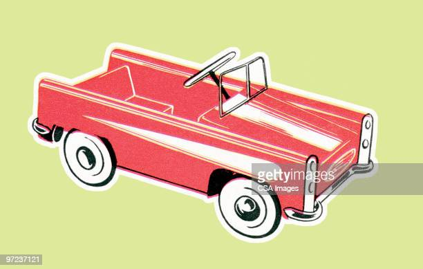 convertible - toy stock illustrations