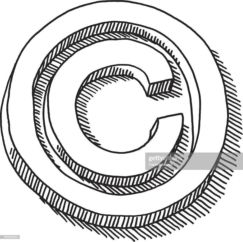 Copyright symbol drawing vector art getty images copyright symbol drawing vector art biocorpaavc