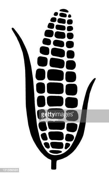 corncob - corn stock illustrations, clip art, cartoons, & icons