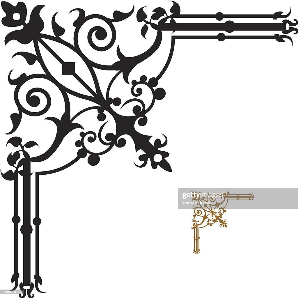 Corner decoration