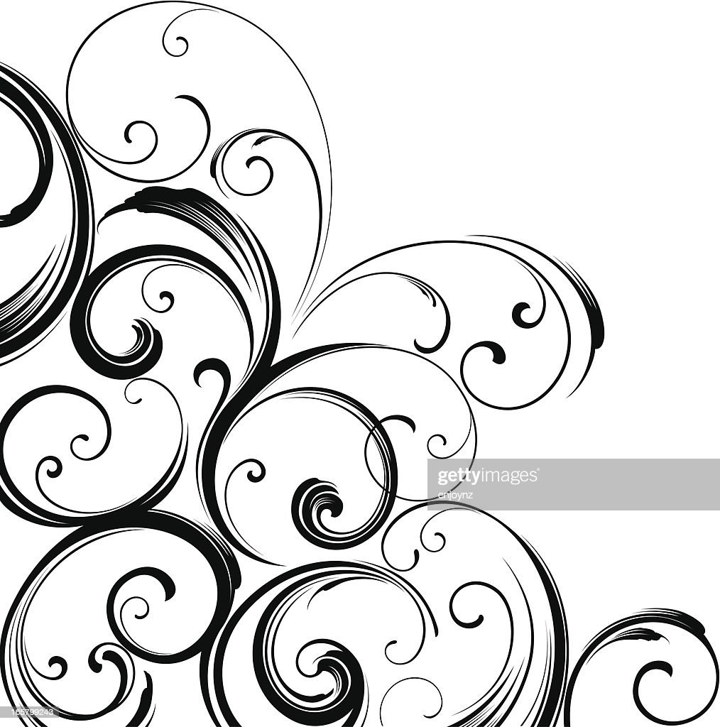 Corner motif design