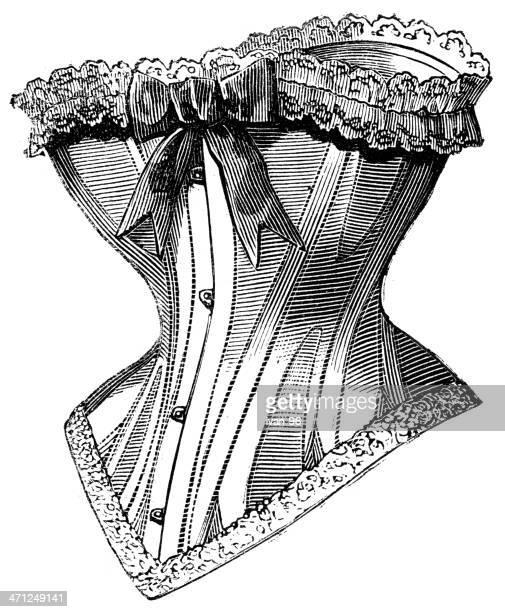 corset - en búsqueda stock illustrations