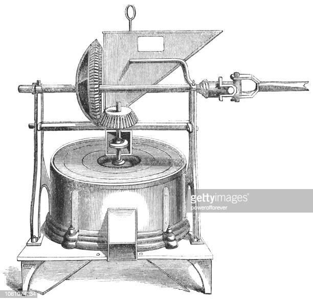 Costa Rican Coffee Grinder (19th Century)