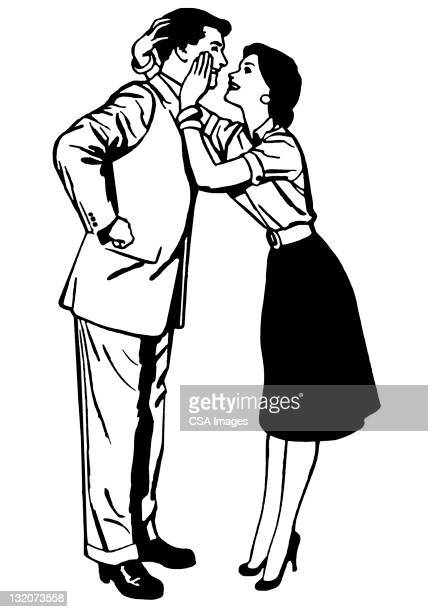 couple embracing - updo stock illustrations, clip art, cartoons, & icons