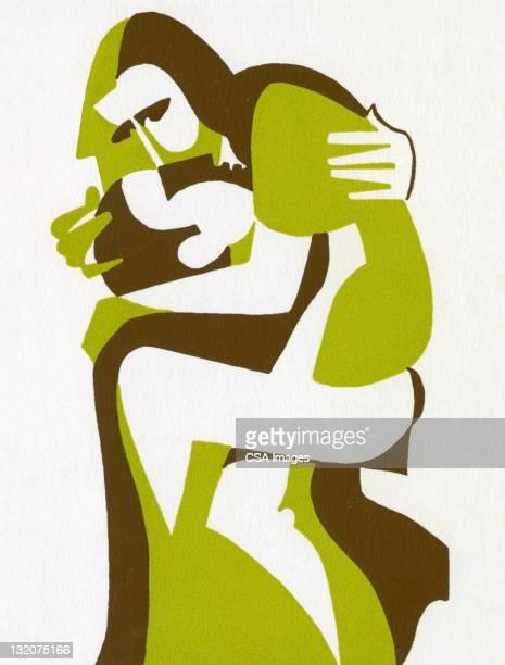 couple embracing - human sexual behavior stock illustrations, clip art, cartoons, & icons