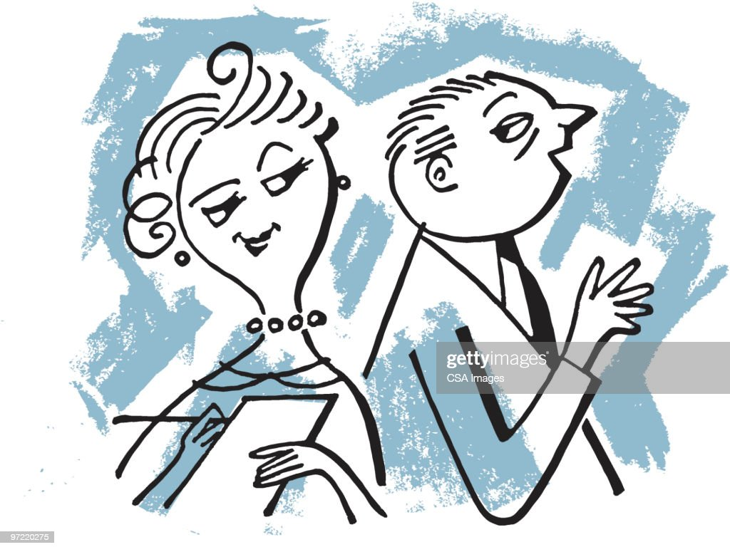 Couple : stock illustration