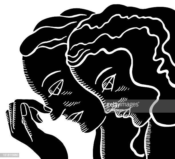 Couple With Heads Down