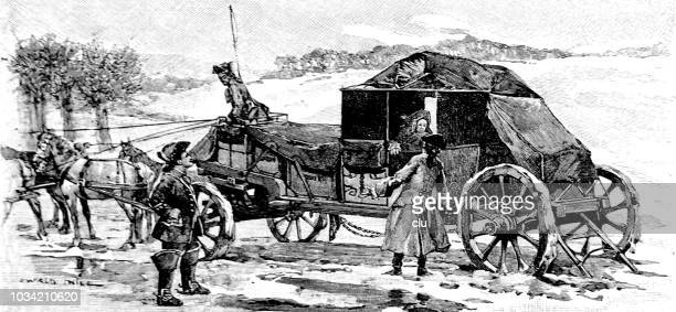 Court and travel carriage from Saxony