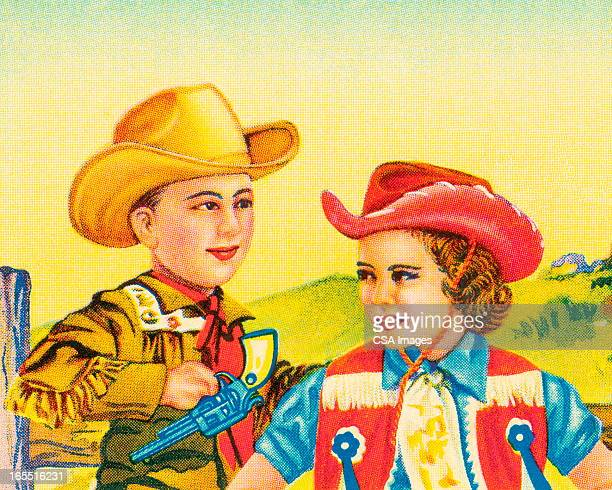 Cowboy e Vaqueira