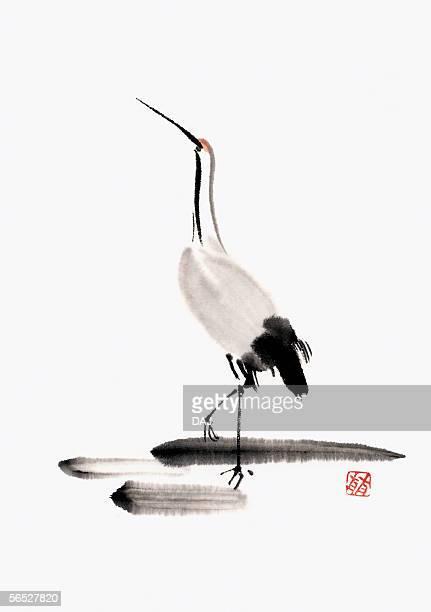 60点の鶴のイラスト素材クリップアート素材マンガ素材アイコン素材