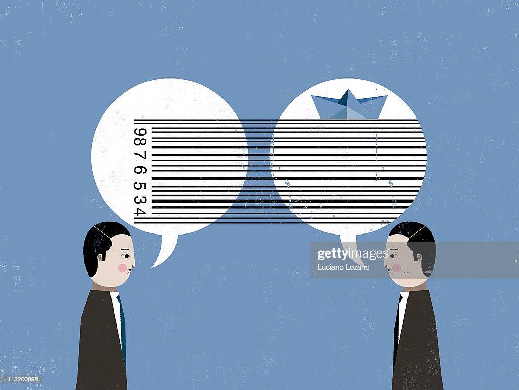 Creative communication : Stock Illustration
