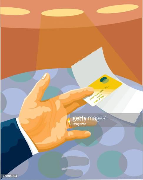 credit card - spending money stock illustrations, clip art, cartoons, & icons