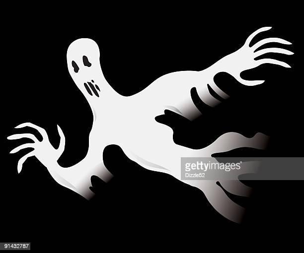 Creepy Halloween Ghost