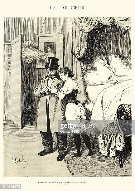 Cri du Coeur - Man paying a prostitute