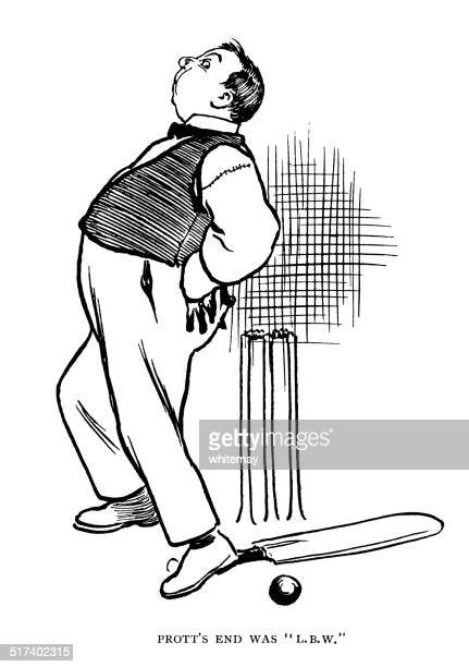 Cricketer given out bum before wicket