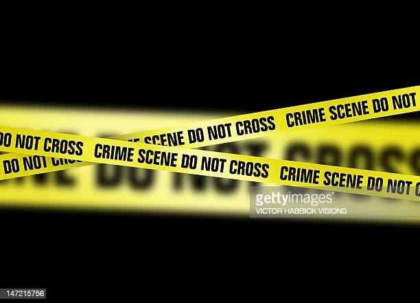 crime scene tape, artwork - crime scene stock illustrations, clip art, cartoons, & icons