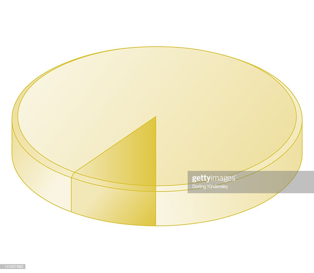 Cross Section Biomedical Illustration Of Plasma Pie Chart Showing 90
