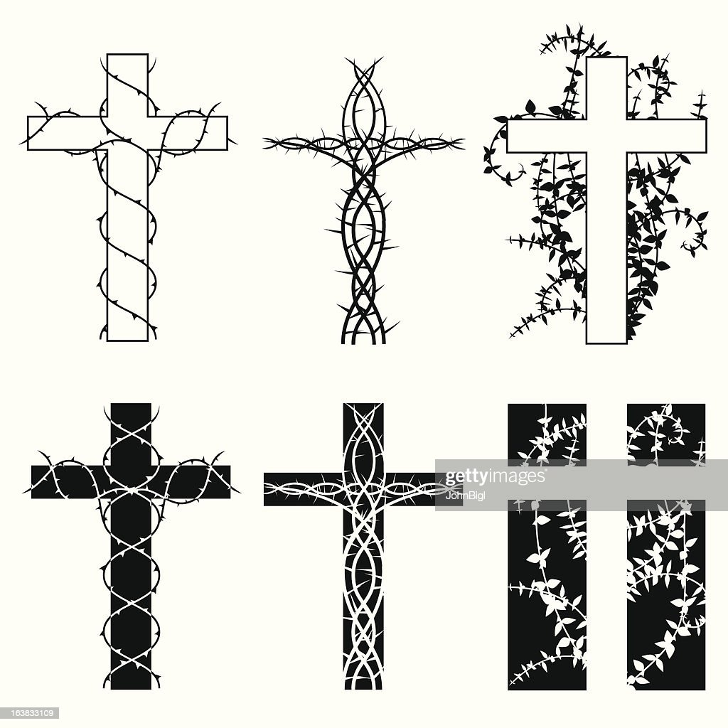 Crosses and thorns