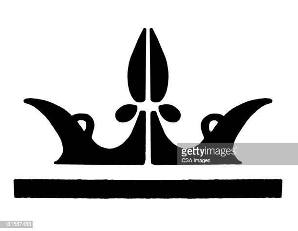 crown - tiara stock illustrations, clip art, cartoons, & icons