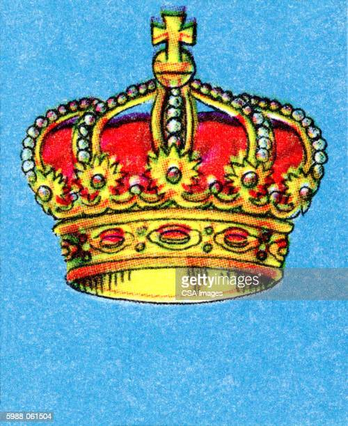crown - crown stock illustrations