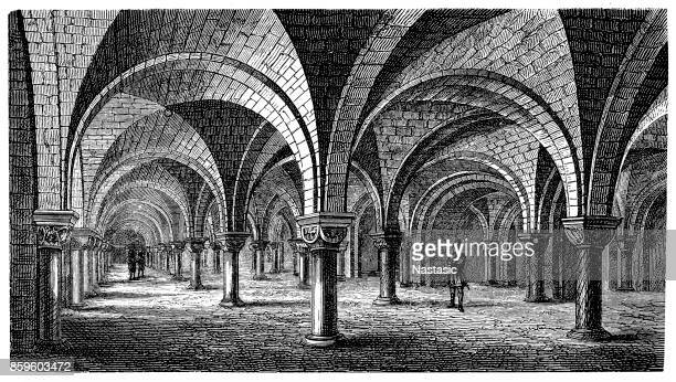 Crypt of Canterbury cathedral