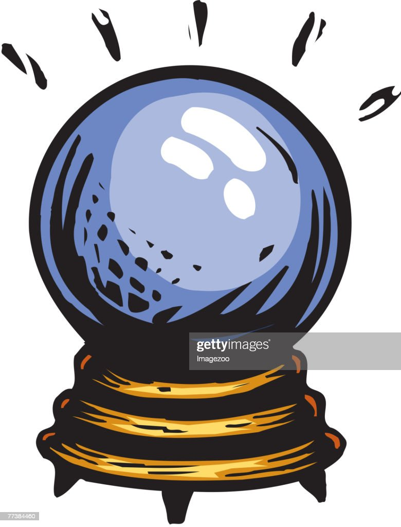 crystal ball vector art getty images rh gettyimages co uk witch with crystal ball clip art witch with crystal ball clip art