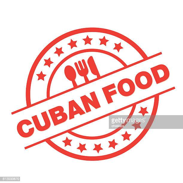 cuban food label - cuban culture stock illustrations, clip art, cartoons, & icons