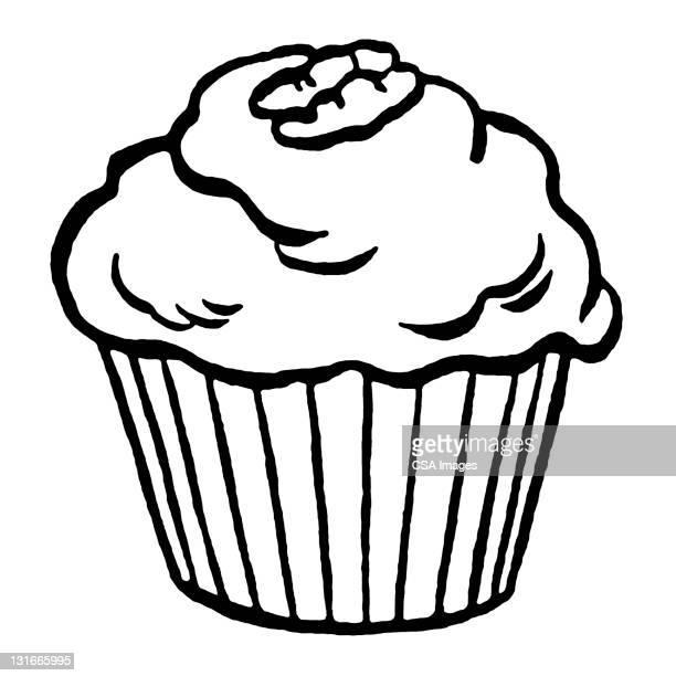 cupcake - cake stock illustrations