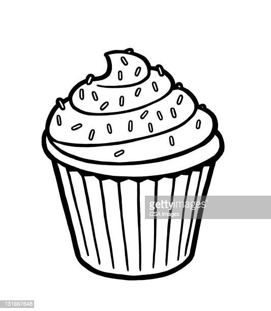 Cupcake With Sprinkles on Top