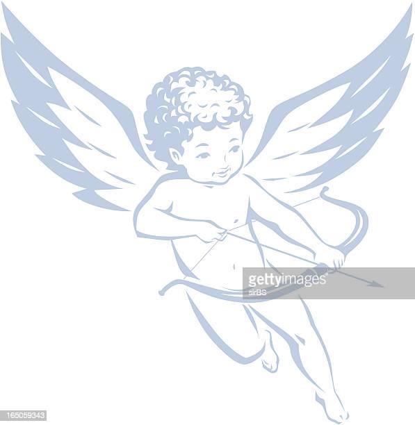 cupid - cupido stock illustrations