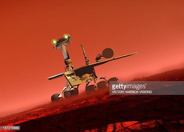 Curiosity rover, artwork