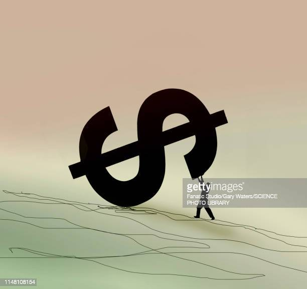 currency support, conceptual illustration - finanzen stock illustrations